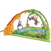Fisher Price Covor de joaca Rainforest Melodies & Lights Deluxe Gym