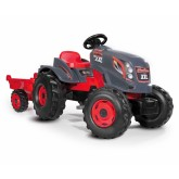 Smoby tractor cu pedale si remorca Stronger XXL 01