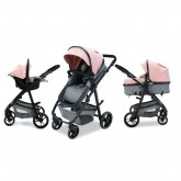 Asalvo carucior 3in1 Convertible Two 0m+, Pink AS18144 01