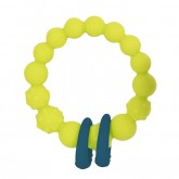 B.Toys inel dentitie silicon 0m+, Lime