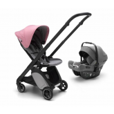 Bugaboo carucior 2in1 Ant TS 0m+, Black-Grey  01