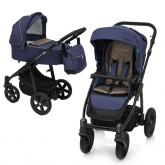 Design Lupo Comfort carucior multifunctional 2in1 0m+ Navy 01