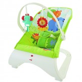 Fisher Price balansoar cu vibratii Rainforest Friends Comfort Curve 0 luni+