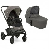 Joie carucior multifunctional 2in1 Chrome 0m+, Foggy Gray