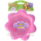Nuby farfurie rotunda adanca 18m+, Flower Child