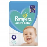 Pampers 4 scutece copii Active Baby  01