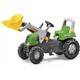 Rolly Toys Junior tractor cu pedale 3 ani+, Verde 01