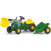Rolly Toys Kid tractor cu pedale John Deer 3ani+, Vere 01